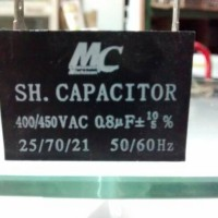 Kapasitor Capacitor Kondensator kotak MC 0.8uF 400/450VAC 400 volt