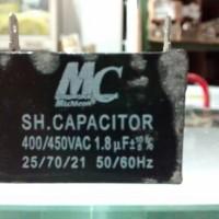 Kapasitor Capacitor Kondensator kotak MC 1.8uF 400/450VAC 400 volt