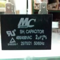 Kapasitor Capacitor Kondensator kotak MC 2uF 400/450VAC 400 volt