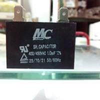 Kapasitor Capacitor Kondensator kotak MC 1uF 400/450VAC 400 volt