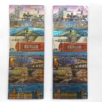 Magnet Kulkas London Kotak 6 Pcs (1 set), Souvenir Unik UK Inggris