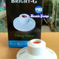 harga Fiting Plafon Jumbo Bright G , Rumah Lampu Bentuk Besar Kuat & Bagus Tokopedia.com