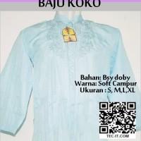 Baju Koko Bordir Code BKKL03