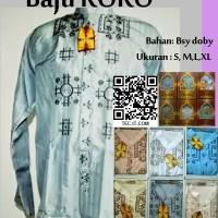 Baju KOKO Bordir Code BKK02