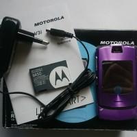 Motorola RAZR V3i Purple
