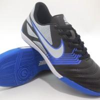 Sepatu Futsal Nike Gato - Black Blue White