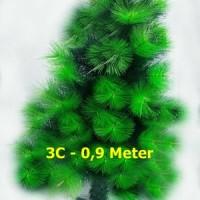 Jual Pohon Natal - 3C Murah 0,9 Meter - Christmas Tree Murah