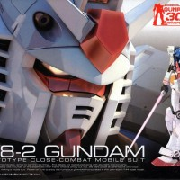 BANDAI 1/144 RG RX-78-2 Gundam Gunpla 30th Anniversary Ver.