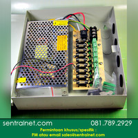 Box CCTV 12V 10A   9 CHANNEL