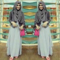 Br5890 Baju Muslim Murah Maxi Trendy