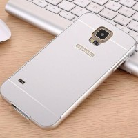 Samsung Galaxy S5 Bumper Aluminium Metal With Back Hard Case Cover