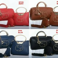 Tas Gucci Estonia #3118 Embossed Semprem Uk29x14x16