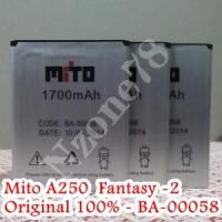 BATERAI MITO A250 FANTASY-2 BA-00058 ORIGINAL
