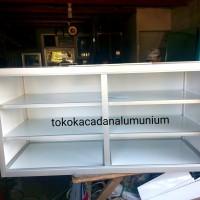 harga Lemari alumunium composite panel kitchen set, kaca etalase showcase Tokopedia.com