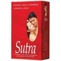 kondom sutra merah isi 24 buah kontrasepsi KB kesehatan pria wanita