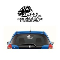 Sticker Nobody Cares About Your Stick Family 002