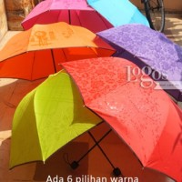payung 3D / payung lipat 3D