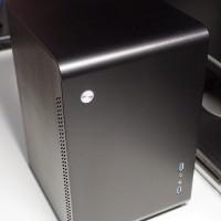 Jonsbo U2 + (ITX, ATX PSU) Black