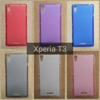 Softcase Sony Xperia T3/T 3 Soft Jelly Case Silikon Jellycase Jelycase