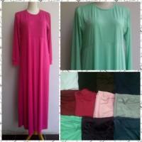 harga Simple Long dress Good Quality HQ/ Gamis Murah Bandung/ Real Pict Tokopedia.com