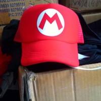 harga Topi Trucker Mario Bros Tokopedia.com