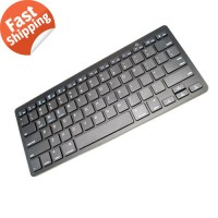 Wireless Keyboard Slim Portable Universal for Tablet PC Game Komputer