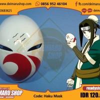 [HAKU MASK] TOPENG ANIME MANGA NARUTO KIRIGAKURE SHINOBI FIBER