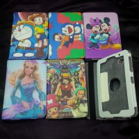 Sarung Buku Gbr Samsung Galaxy Tab P3100 seri animasi barbie one piece