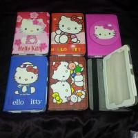 "Sarung Buku Gambar Samsung Galaxy Tab 2 7"" P3100 seri Hello Kitty."