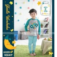 Baju Tidur Piyama Anak Gw Celana Panjang Gw-129i