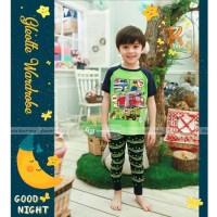 Baju Tidur Piyama Anak Gw Celana Panjang Gw-129k