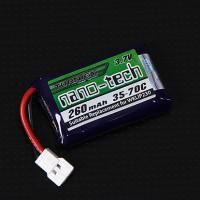 Turnigy nano-tech 260mAh 1S 35-70C(QR Ladybird/Genius CP/Mini CP)