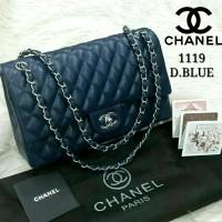Sale Tas Wanita Chanel Yuni Shara #1119# Deep Blue