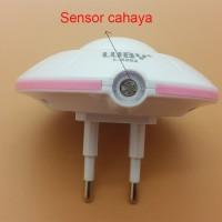 Lampu tidur with Sensor Cahaya Model UFO LUBY
