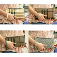 Tas Pesta (Clutch) Burberry & Gucci #2089 Waterproof Semprem Uk24x14