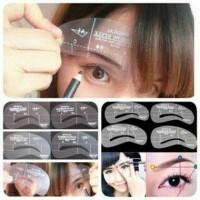 Jual Cetakan Alis isi 4 (Megical Eyebrow Style) Murah