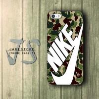 iPhone Case 4 4s 5 5s 5c 6 6s Plus Nike Bape Camo