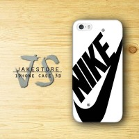 iPhone Case 4 4s 5 5s 5c 6 6s Plus Nike Just Do It White