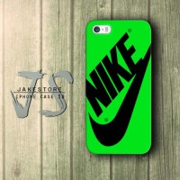 iPhone Case 4 4s 5 5s 5c 6 6s Plus Nike Just Do It Green