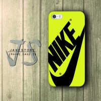 iPhone Case 4 4s 5 5s 5c 6 6s Plus Nike Just Do It Yellow