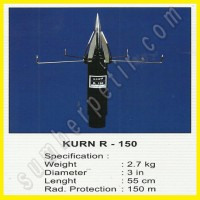 Paket Paket Penangkal Petir Radius 150M