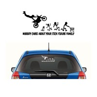 Sticker Nobody Cares About Your Stick Family 001