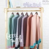Bergo Hijab Alila Berry Ruffle
