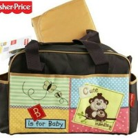 Fisher Price Diaper Bag Monkey Baby