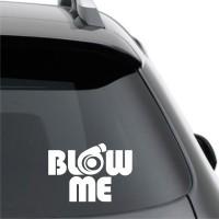Sticker Mobil blow me innova portuner yaris pajero rush crv wSTR-011