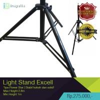 Light Stand / kaki lampu studio / tripod lampu Excell HIGH QUALITY