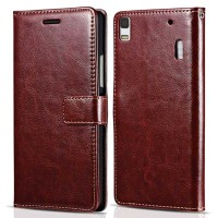 Luxury Wallet Leather Case Lenovo A7000/A7000 Special Edition