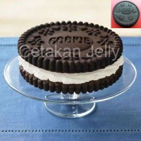 OREO COOKIE Cetakan Es Puding Jely Coklat Ice Pudding Jelly Mold