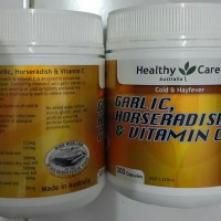 Healthy Care Horseradish + Garlic + Vitamin C 300 kapsul