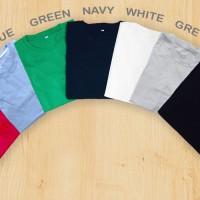 Jual Kaos Polos Premium Wanita - High Quality - Cotton Combed 30s Murah